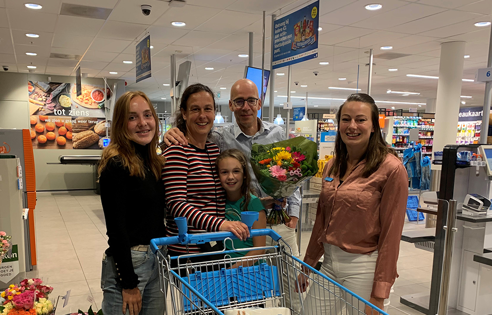 Gratis winkelen voor Ellen Neelissen bij Albert Heijn Praamplein