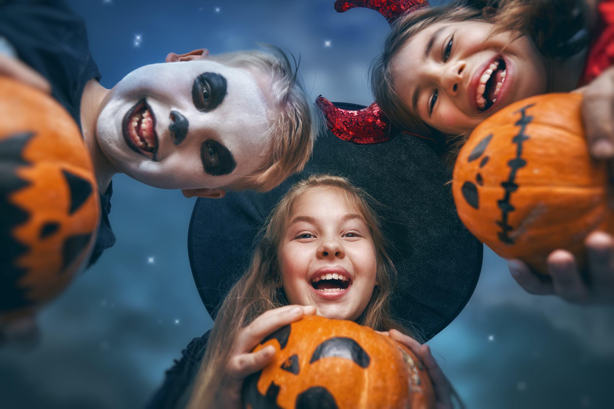Halloweenfeestje in Aalsmeer Centrum
